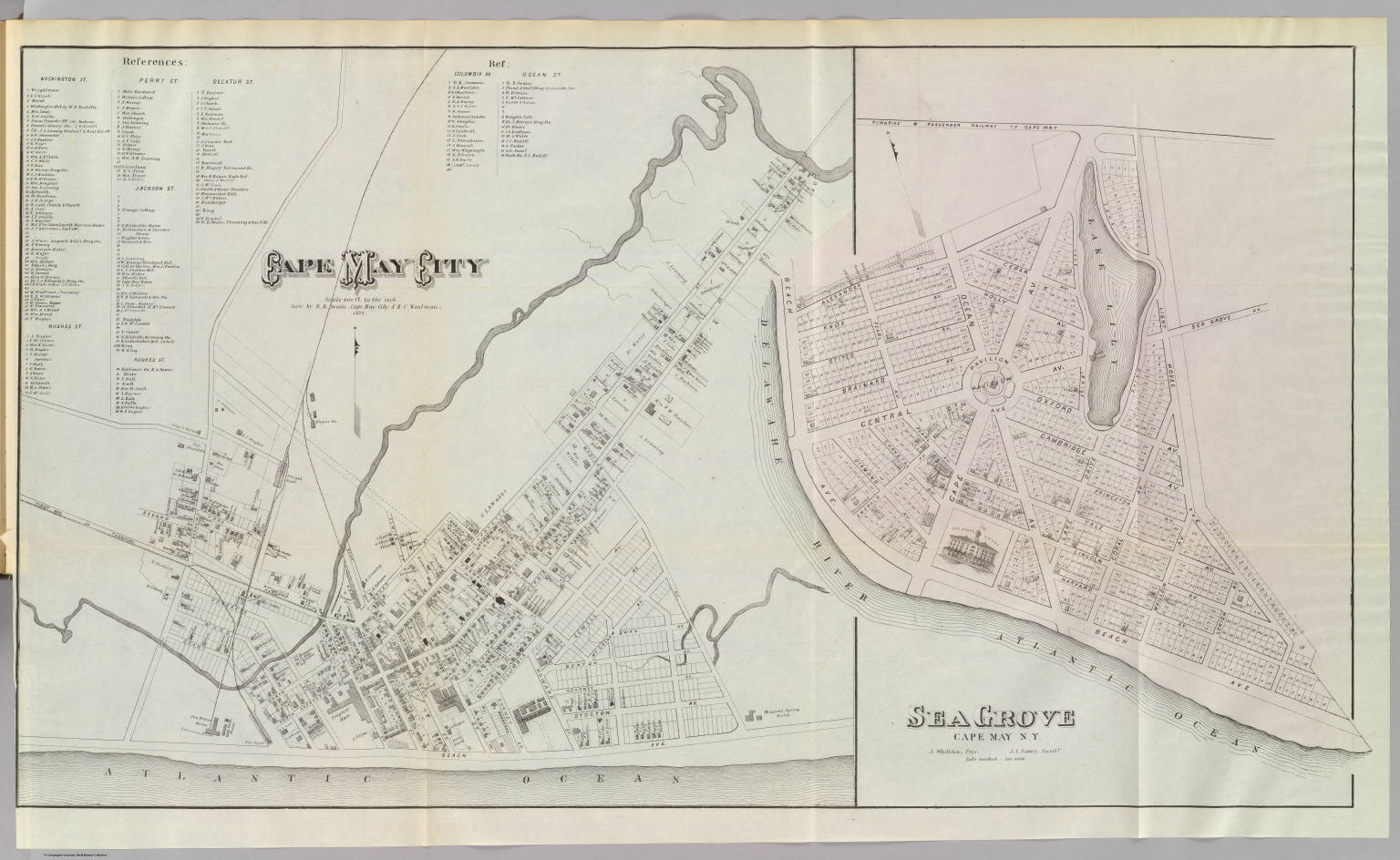 Cape May City Map