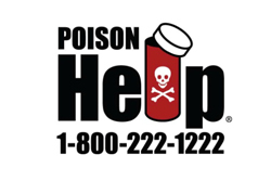 Poison Control Help 800-222-1222