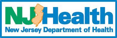 Image result for nj department of health logo