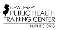 New Jersey Public Health Training Center logo with state outline
