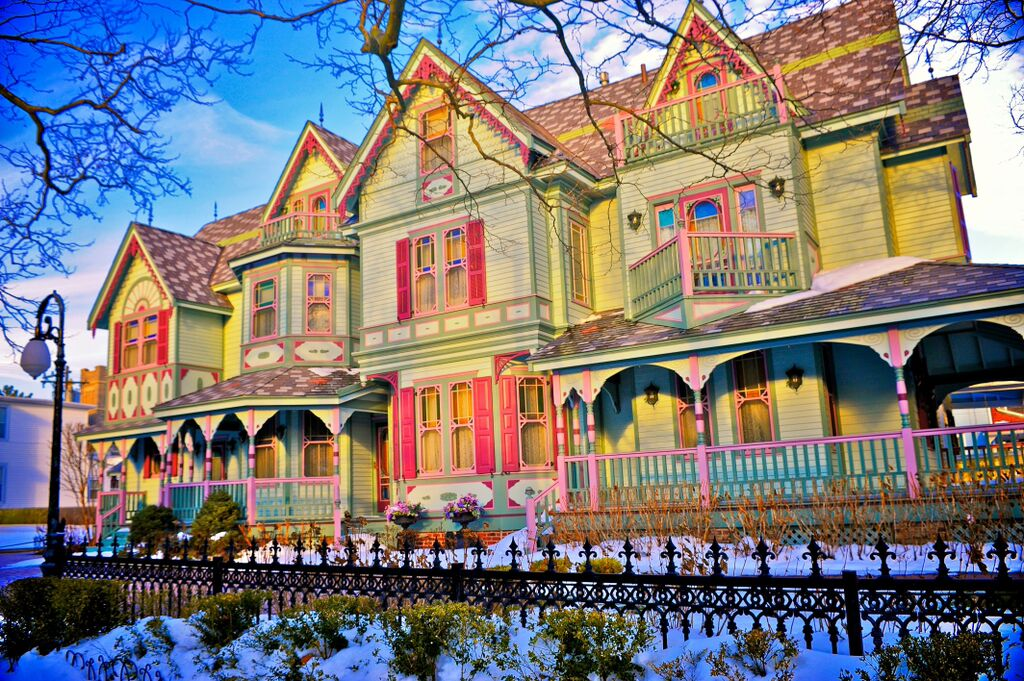 Cape May Victoriana winter