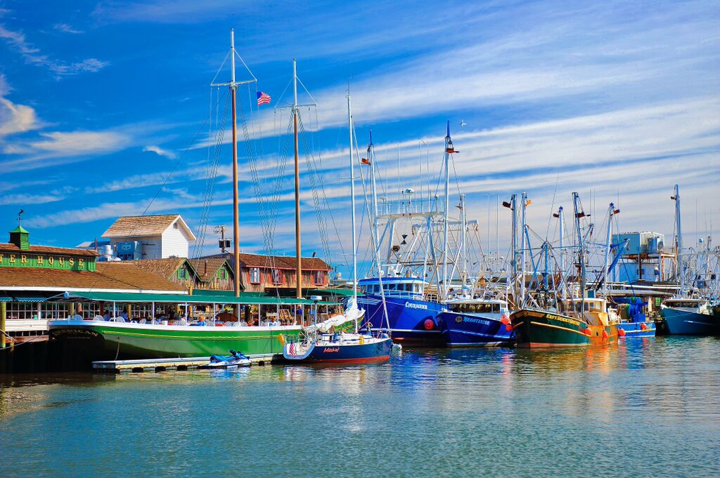 Cape May fishing boats