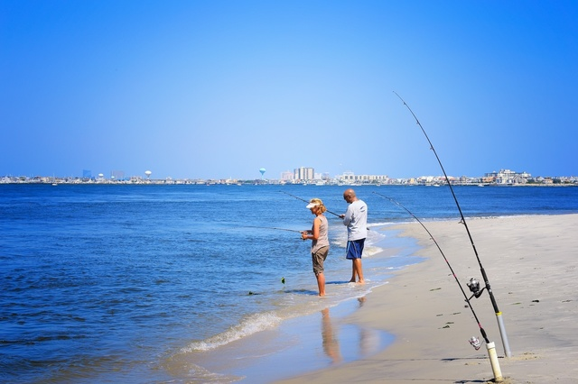 Go fishing cape may county nj official website for Surf fishing nj