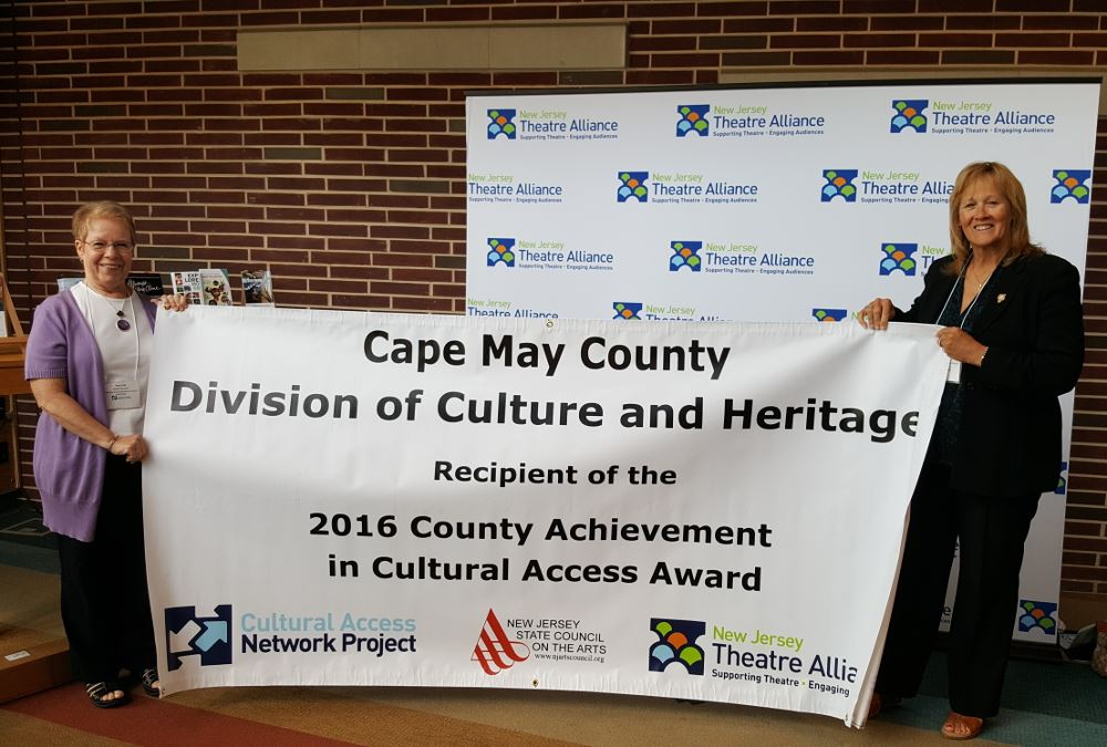 New Jersey Cultural Access Project's County Achievement Award