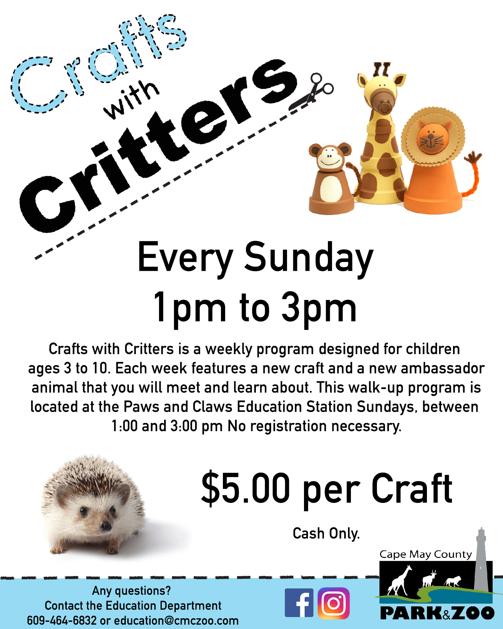 Crafts with Critters 17