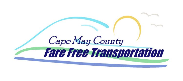 Cape May County Fare-Free Transportation Logo