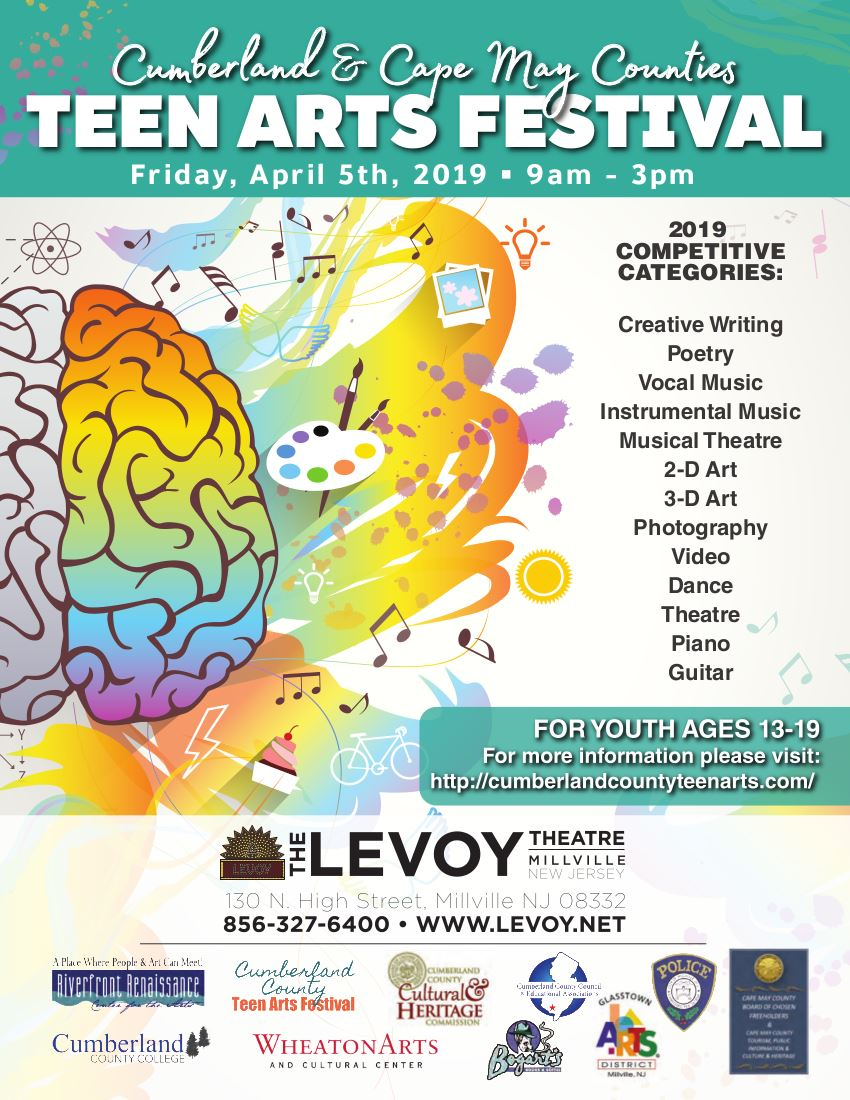 2019 Cumberland Cape May Teen Arts