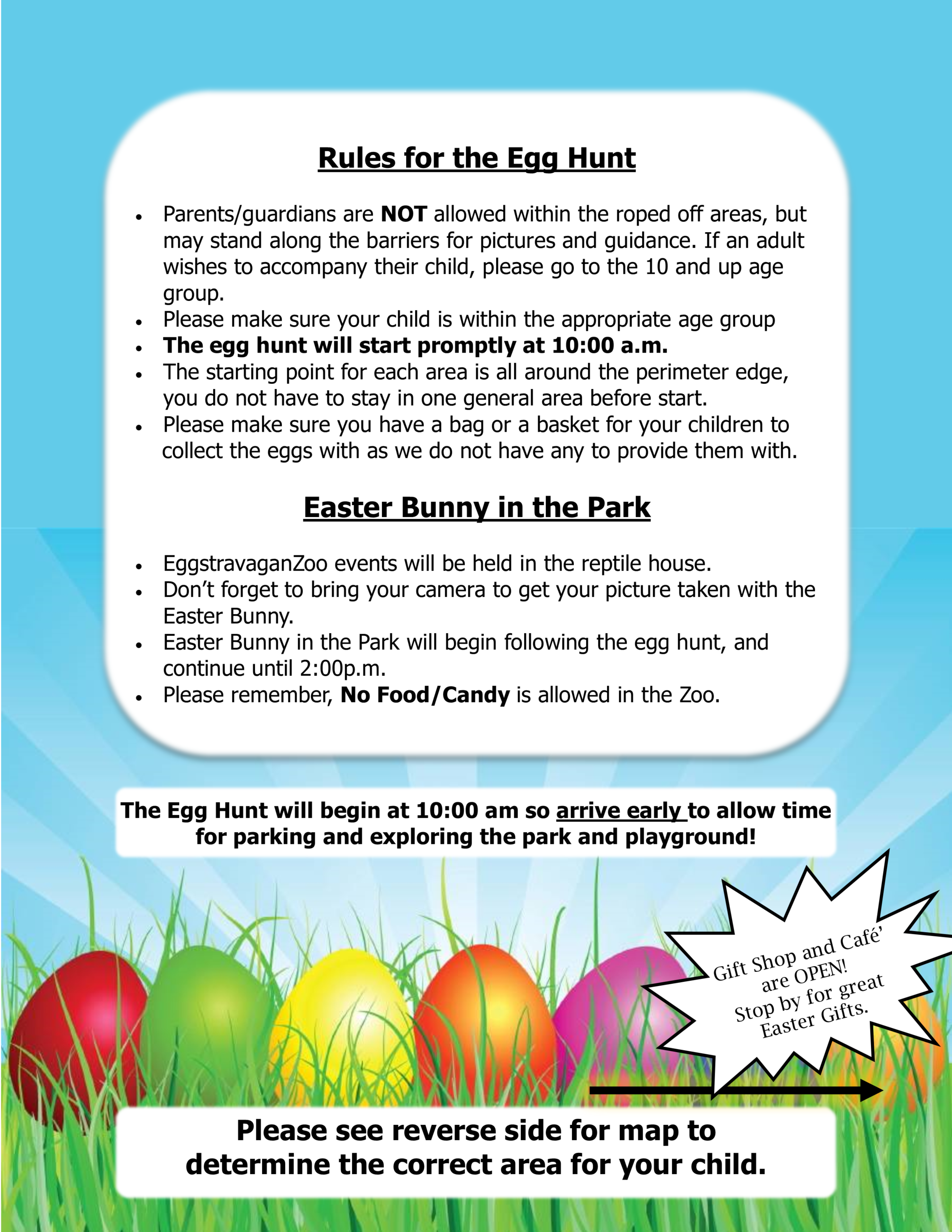 Easter rules 2018