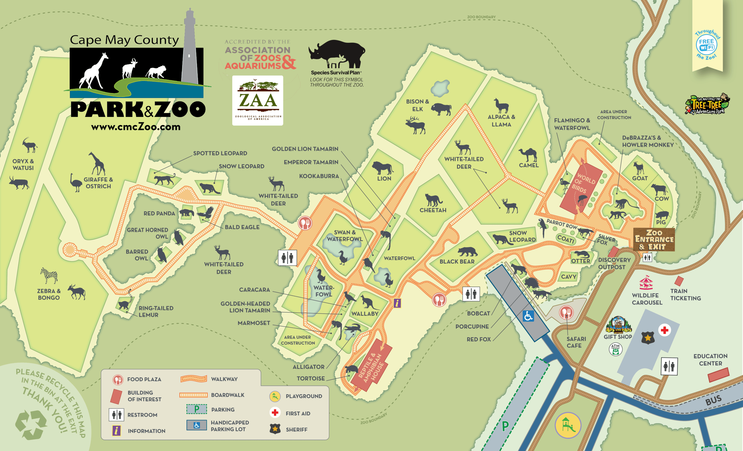 ZOO ZAA added MAP 2019