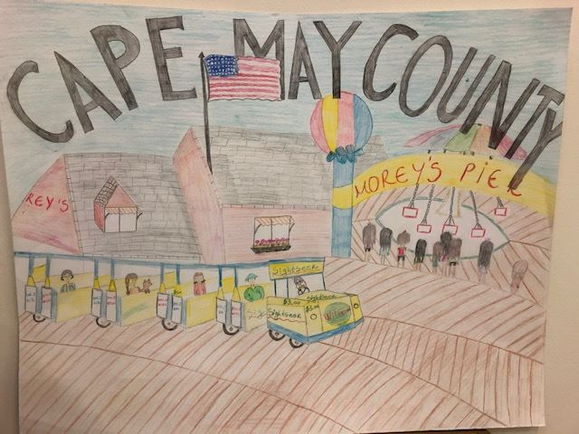 3rd Place, Diana Adnova, Middle Township Elementary 2