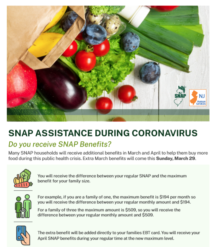 Snap Benefits English Flyer
