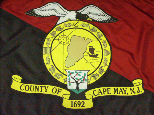 Official Cape May County Flag