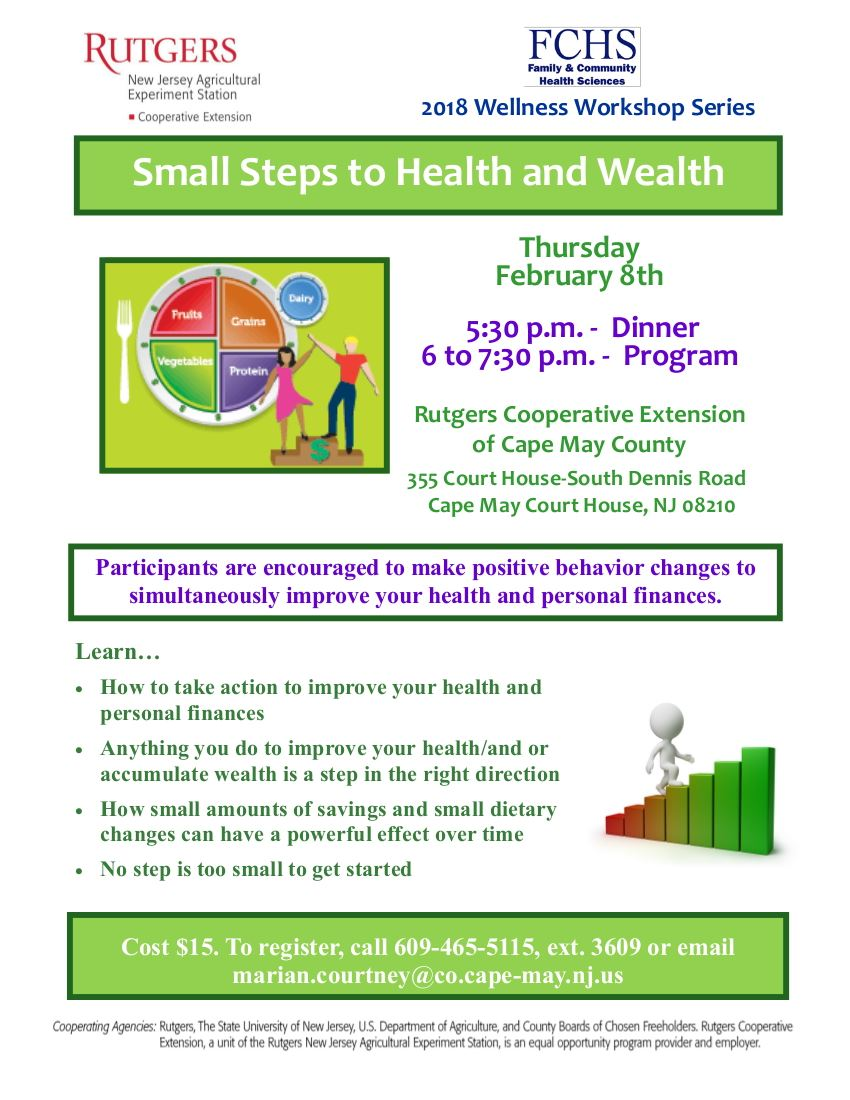 FCHS Feb 8 Small Steps to Health and Wealth-2