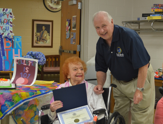 Collette Lombardi Turns 101