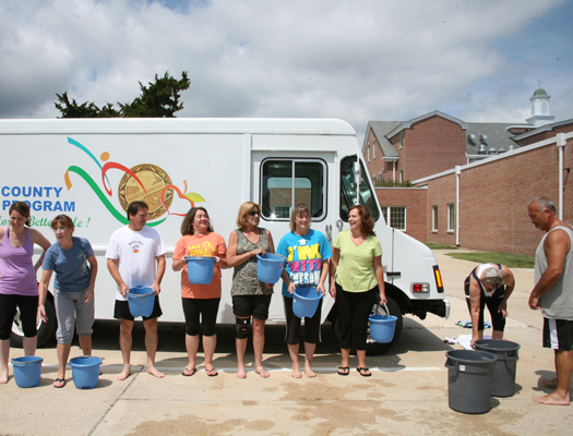 Wellness Program Takes ALS Ice Bucket Challenge