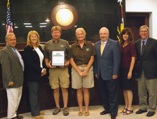 Cape May County Park and Zoo Receives Award