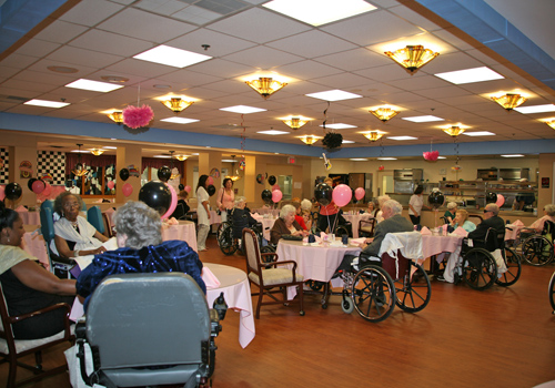 Senior Prom at Crest Haven