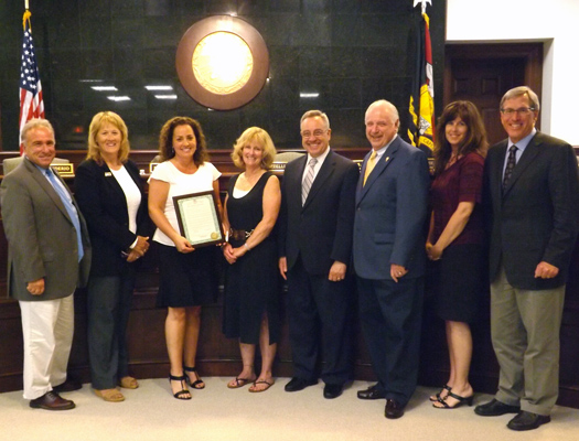 2014 Cape May Teacher of the Year Recognized
