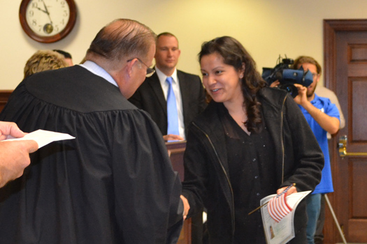 Cape May County Hosts Naturalization Ceremony