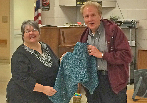 """Scarf It Up"" Program at Crest Haven"