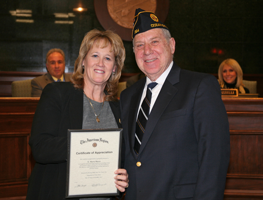 Officials Honored by American Legion Post 524