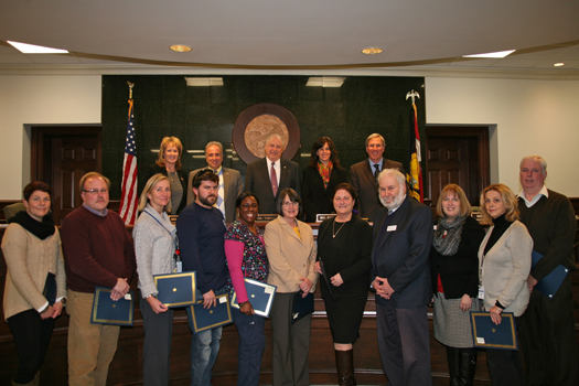 County Employees Recognized