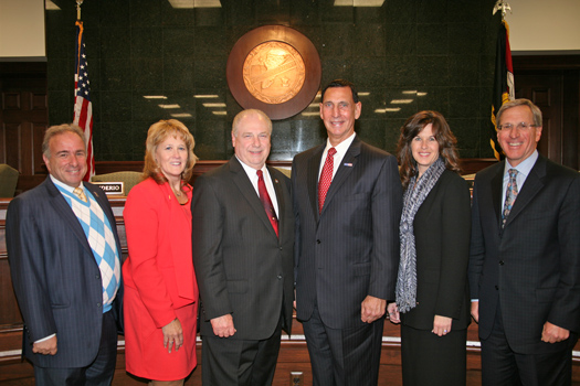 Board of Chosen Freeholders Reorganization Meeting