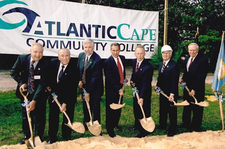 Groundbreaking Ceremony October 3, 2002
