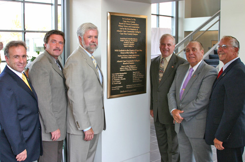 Official Plaque Dedication