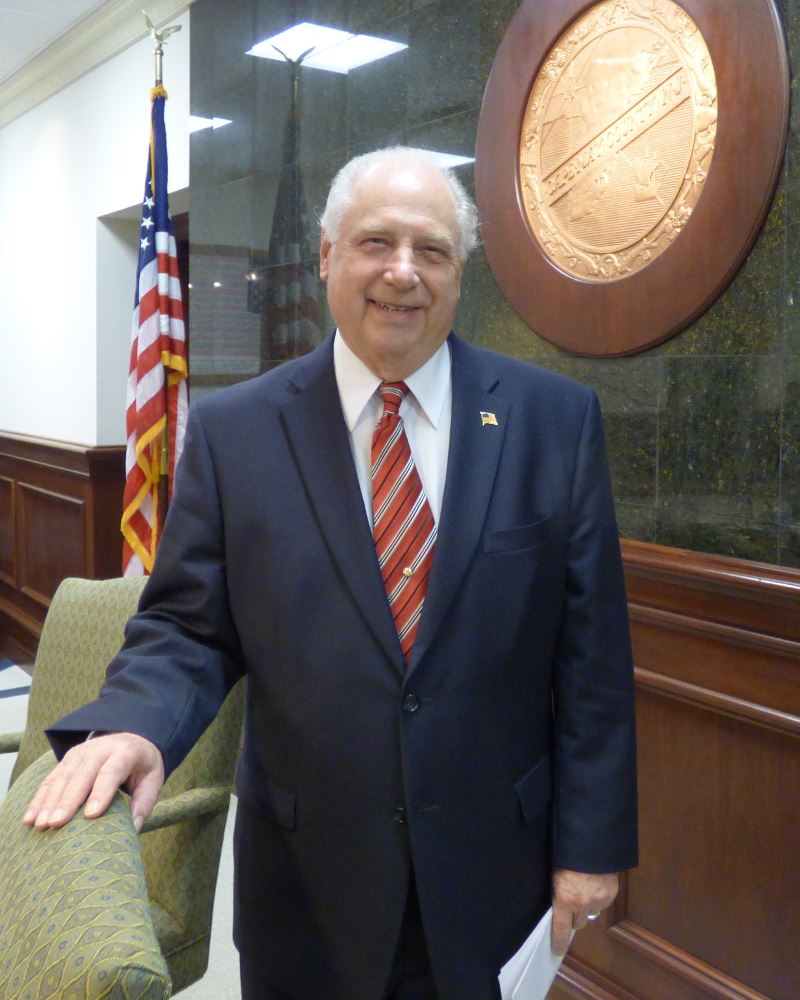 Cape May County Freeholder Director Gerald M. Thornton