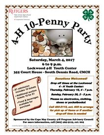 Penny Party Flyer photo